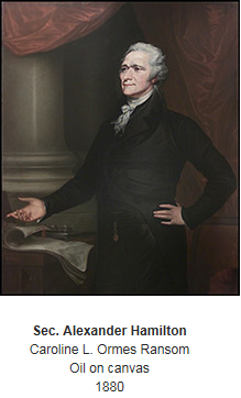 Alexander Hamilton (1757- 1804)