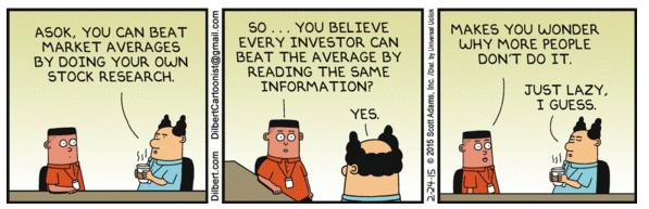 Beating Market Average